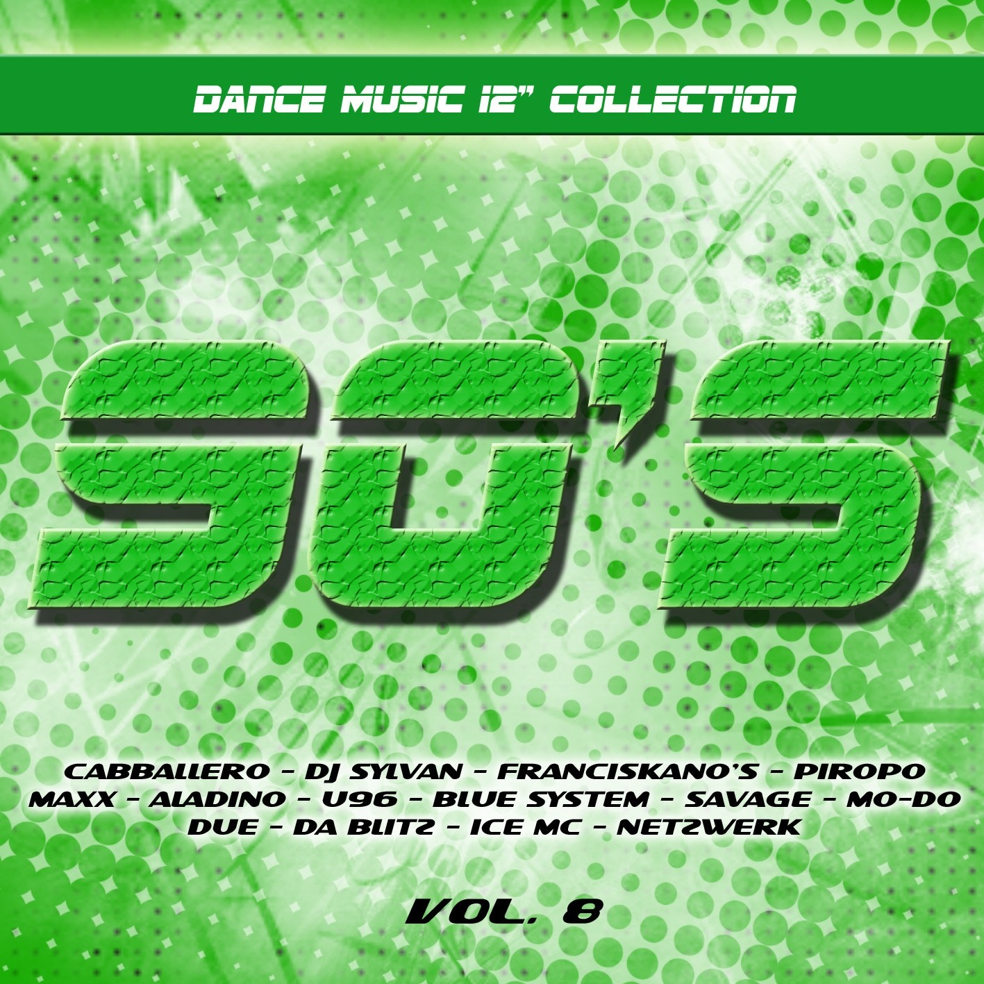 90 s dance music 12 collection volume 08 90 39 s dance for Piano dance music 90 s
